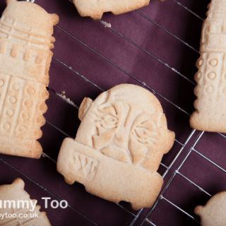 Dalek and Sontaran cinnamon cookies (Doctor Who recipe)