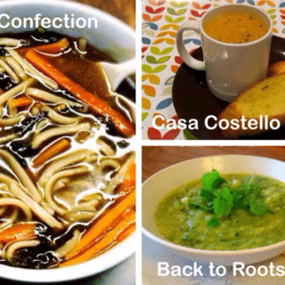 Three warming soups + #recipeoftheweek 12 – 18 Oct