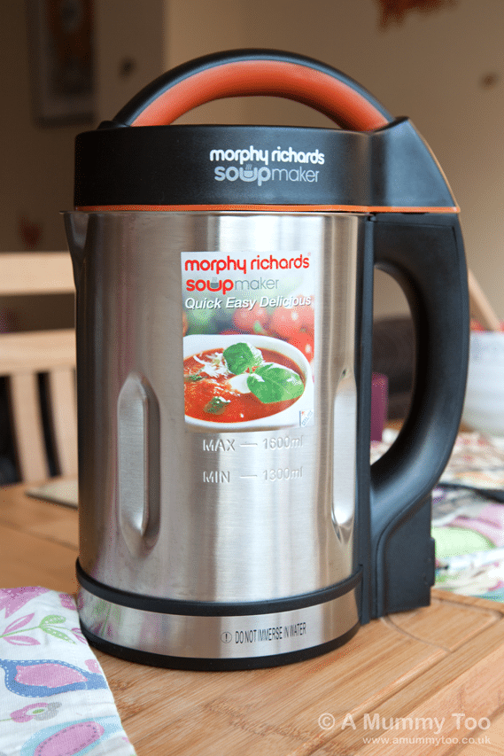 Win a Morphy Richards Soup Maker worth £99 - A Mummy Too
