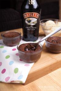 Baileys hot chocolate pudding (recipe) - A Mummy Too