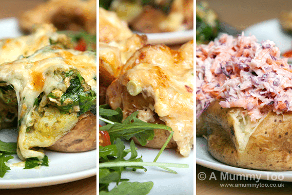 baked-potato-three-ways