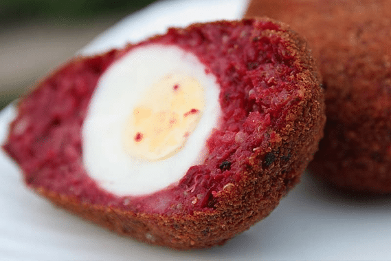 beetroot-scotch-egg-allotment2kitchen