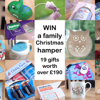 Win a family Christmas hamper with 19 gifts worth over £190