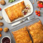 Turkey, stuffing and bacon festive slice – better than Greggs