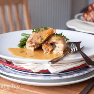 Chicken Involtini by Sage Russell