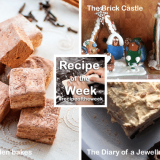 A trio of treats + #recipeoftheweek 14-20 Dec