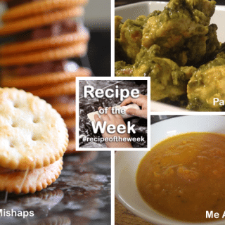 Snack, soup and main + #recipeoftheweek 7-13 Dec