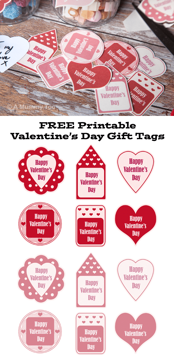 Irresistible image with regard to free printable valentine tags