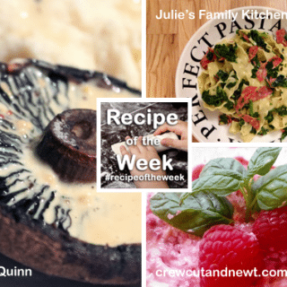 Creamy starter, main and dessert + #recipeoftheweek 11-17 Jan