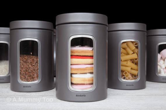 Closed Win a set of food canisters and a bread bin from