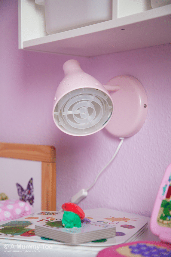SNÖIG wall mounted lamp with wire switch