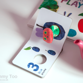 Touch and feel books for young fans of The Very Hungry Caterpillar (review)