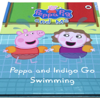 Cute personalised story books: Peppa and Your Child Go Swimming (review)
