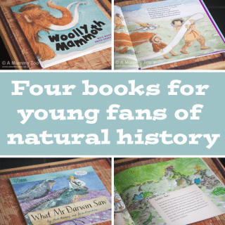 Four books for young fans of natural history