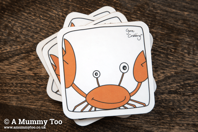 Gone Crabbing coasters