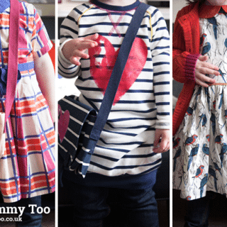 One pair of skinny jeans – three great looks (Mamas & Papas SS14 review)