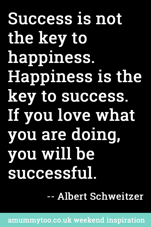 Happiness versus Success