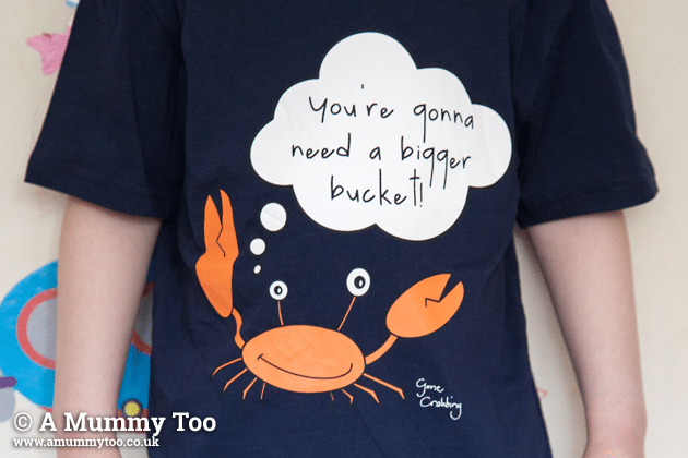 """You're gonna need a bigger bucket"" t-shirt"