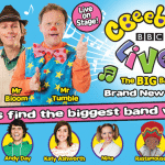 **CLOSED** Win a family ticket to see CBeebies Live! The Big Band, meet the cast and have a pre-show meal at London Designer Outlet!