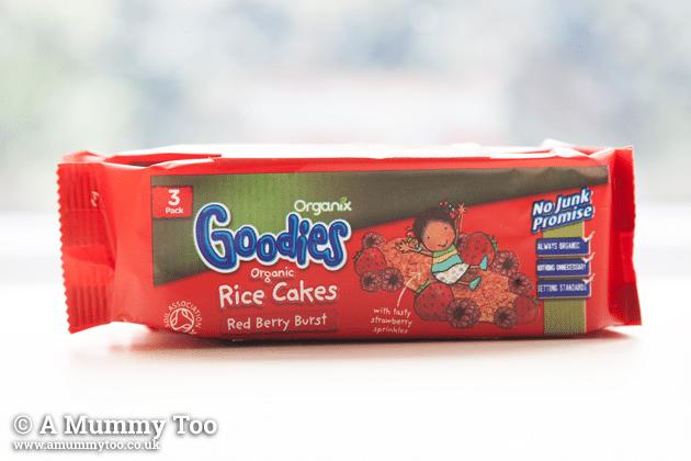 Organix Rice Cakes Sugar