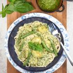 Linguine alla genovese (recipe)