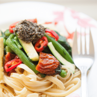 Linguine Con Verdure (recipe)