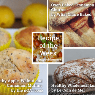 Healthy baking ideas + #recipeoftheweek 24-30 May