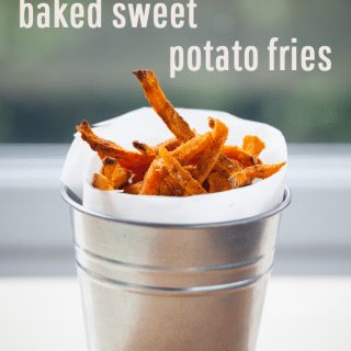 How to make baked sweet potato fries (full recipe and video demonstration)