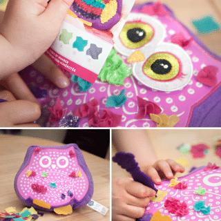 Win a PlushCraft Owl Pal Pillow Kit