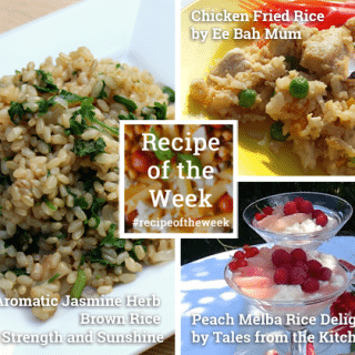The versatility of rice + #recipeoftheweek 28 June – 4 July