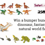Win a bumper bundle of dinosaur, fantasy and natural world figures