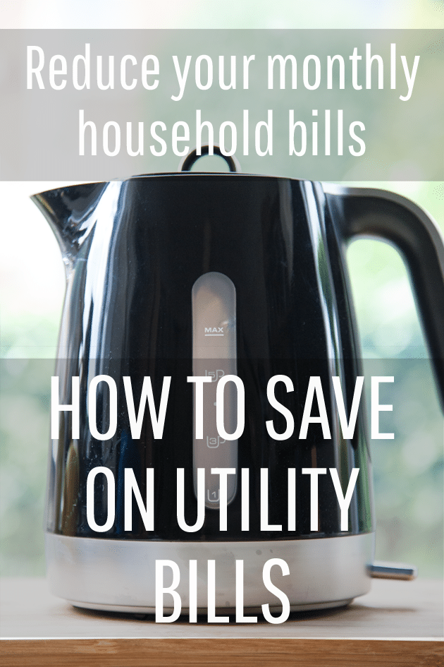 How to save on utility bills, starting TODAY!