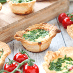 Ham and vegetable mini-quiches (perfect for kids)