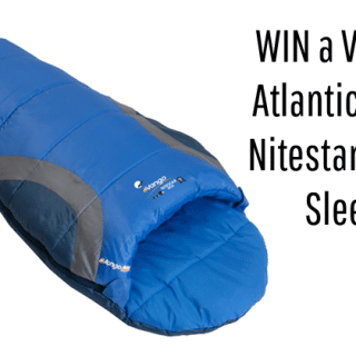 Win a Vango Atlantic Blue Nitestar Mini Sleeping Bag