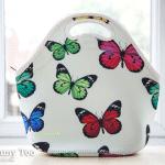 Sweeleestuff Butterfly Print Neoprene Lunch Tote (review)