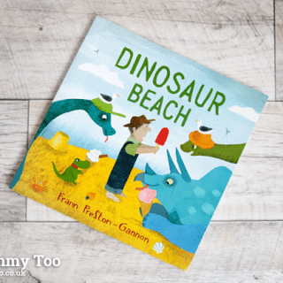 Dinosaur Beach (children's book review)