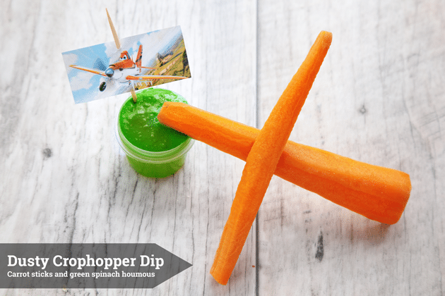 Dusty Crophopper Dip - one of my Disney Planes inspired snacks