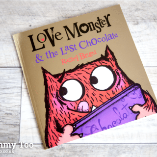 Love Monster & the Last Chocolate by Rachel Bright (children's book review)