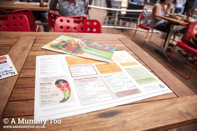 nandos-menu