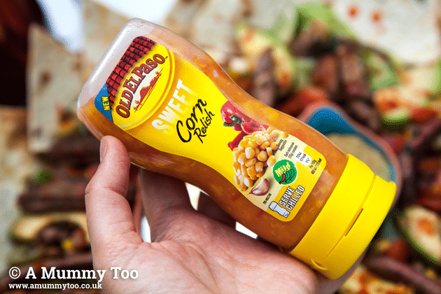 Old El Paso sweet corn relish