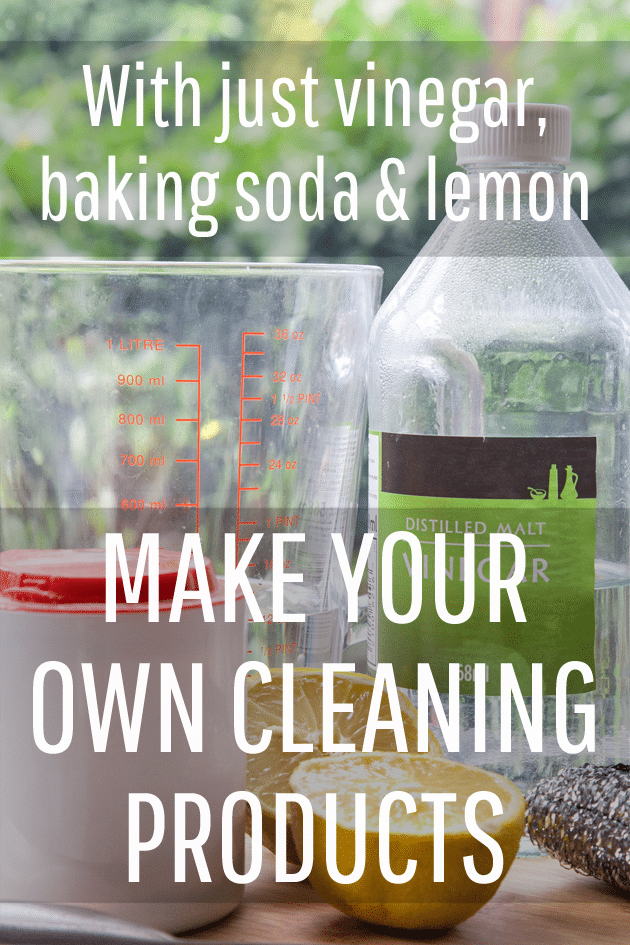Make Your Own Household Cleaning Products A Mummy Too