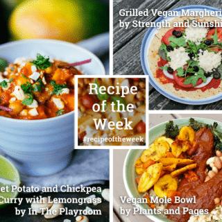 Vibrantly vegan + #recipeoftheweek 16-22 August
