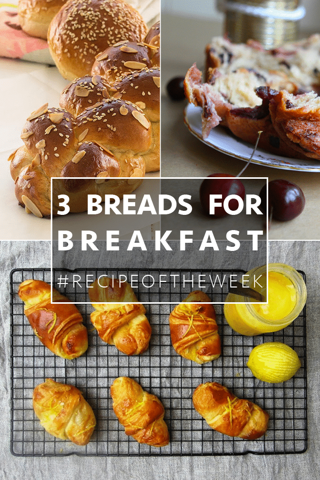 FIRE UP THE OVEN! Three sweet, rich breads for breakfast
