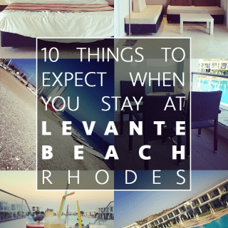 10 things you can expect from a Superior Suite stay at Levante Beach, Rhodes with Mark Warner