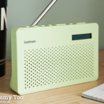 Win a colourful and cool Goodmans Canvas portable digital radio