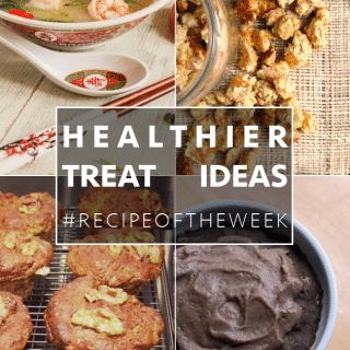 Four healthier treat ideas + #recipeoftheweek 6-12 Sept