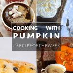 Pumpkin inspiration + #recipeoftheweek 18-24 Oct