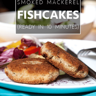 How to make Omega-3 rich smoked mackerel fishcakes
