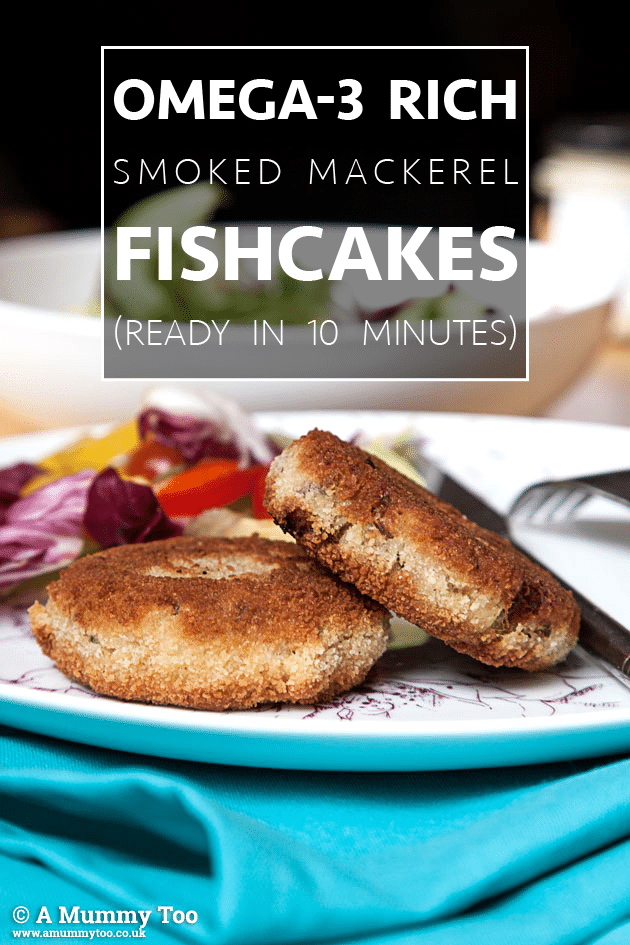 Smoked mackerel fishcakes in 10 minutes