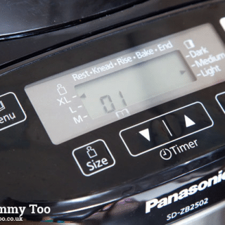Testing the Panasonic SD-ZB2502BXC bread maker